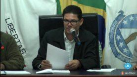 20ª Sessão Ordinária da Camara Municipal de Barbacena