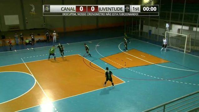 Canal x Juventude – Primeira Copa Estação Minas de Futsal