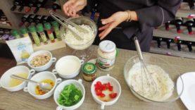 Deguste Wellness Emporium – Spaguetti Refrescante com castanha caramelizada.