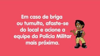 Dicas de Segurança PMMG – Carnaval 2020 – Confusão