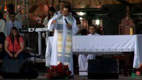 Missa celebrada em honra a Nossa Senhora Aparecida