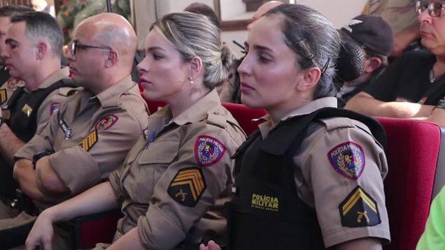 Painel sobre seguridade social da 13a Região de Polícia Militar
