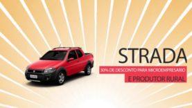 Promoção Fibra Fiat – Strada com 30% de desconto.