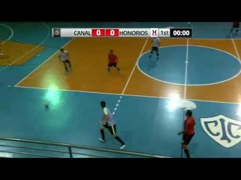 Semifinais da Copa Estação Mias de futsal – Canal x Honórios