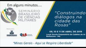 Seminário Brasileiro de Ciências Militares – 10 de Abril de 2019