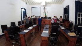 Sessão Extraordinária da Câmara Municipal de Barbacena – 20 de fevereiro de 2019