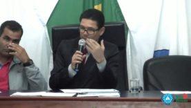 Sessão Ordinária da Câmara Municipal de Barbacena