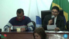 Sessão Ordinária da Camara Municipal de Barbacena