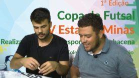 Sorteio ao vivo das chaves da Primeira copa Estação Minas de Futsal
