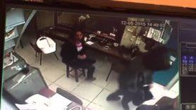 Vídeo de segurança assalto Barbacena