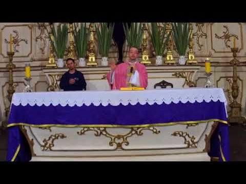 Missa do Santuário de Nossa Senhora da Piedade – 22-03-2020