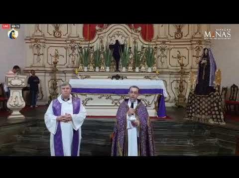 """Santa missa às 19:00hs e em seguida terceiro dia do """"SETENÁRIO DAS DORES DE MARIA."""""""