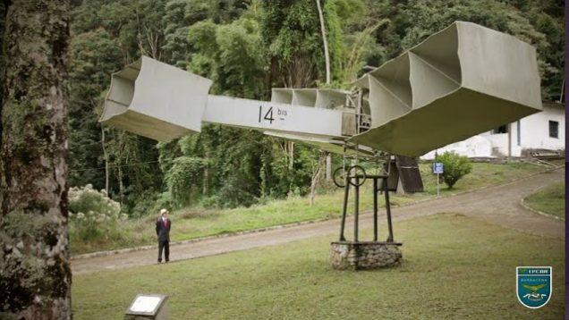 Homenagem ao Aniversário de Santos Dumont
