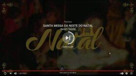Missa da Noite de Natal – Paróquia de Nossa Senhora da Piedade