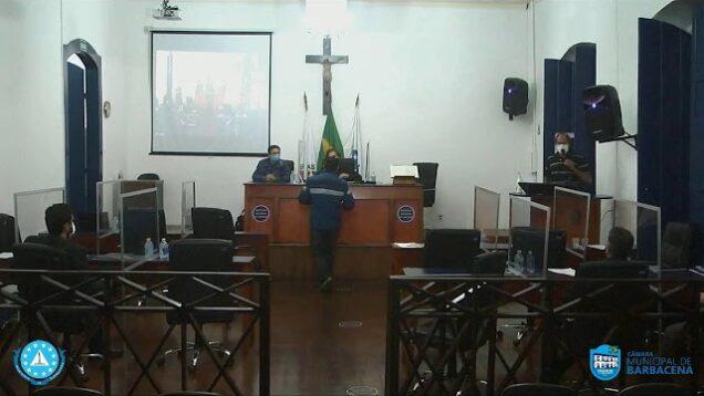 Câmara Municipal de Barbacena – Sessão Ordinária – 01/06/21