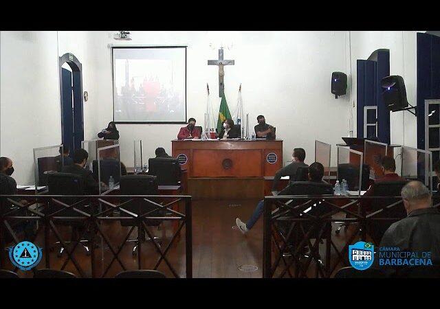 Câmara Municipal de Barbacena – Sessão Ordinária – 15/06/21