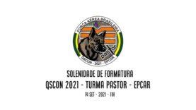 Solenidade de Formatura QSCon 2021 – Turma Pastor – Epcar