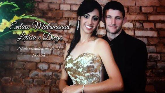 Enlace Matrimonial de Letícia e Diego